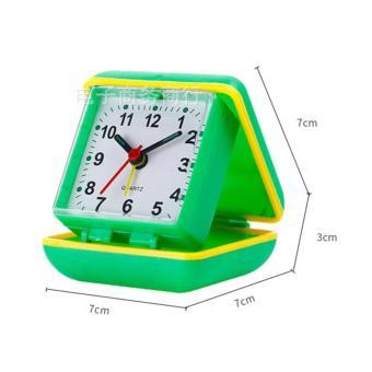 Đồng hồ báo thức hiện đại có hộp máy QUARTZ(Nhiều màu)