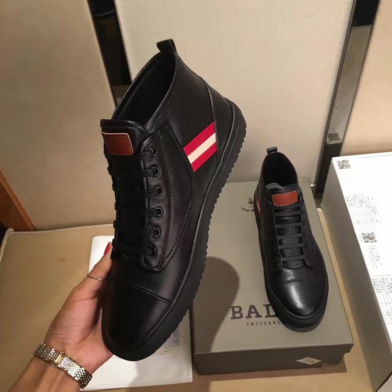 giày nam cao cổ bally 0028