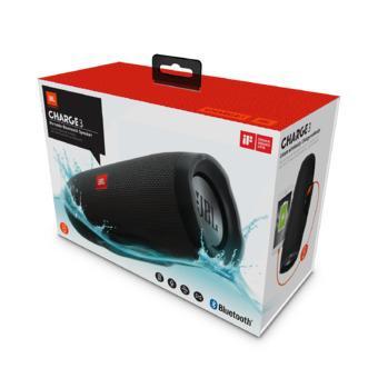 Loa Bluetooth JBL Charge 3 (Đen)