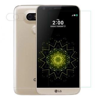 Bộ Ốp lưng silicon Nillkin cho LG G5 (Trong suốt) và Miếng dán kính cường lực LG G5 (Trong suốt)-Hàn...