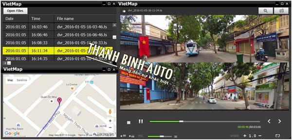 Camera Hành Trình VietMap K12