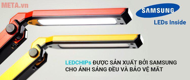Đèn bàn Led Hàn Quốc đổi màu Prism M-08YL (vàng)