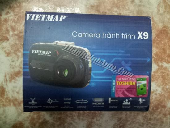 Camera hành trình Vietmap X9, tặng PMH 500k