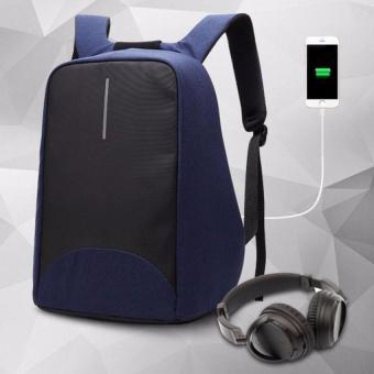 Balo laptop chống trộm coolbell 8001 15.6' (Xanh than)