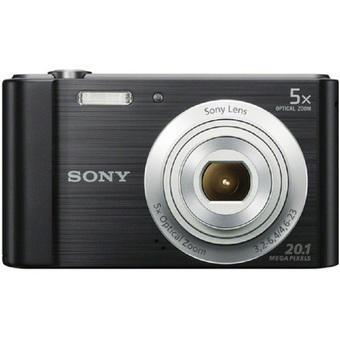 Máy chụp ảnh KTS Sony W800 20.1MP và zoom quang 5x (Đen)
