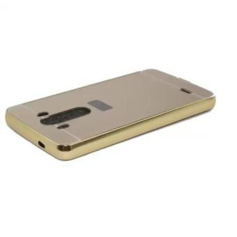 Ốp lưng LG G3 nguyên khối gương (Vàng)