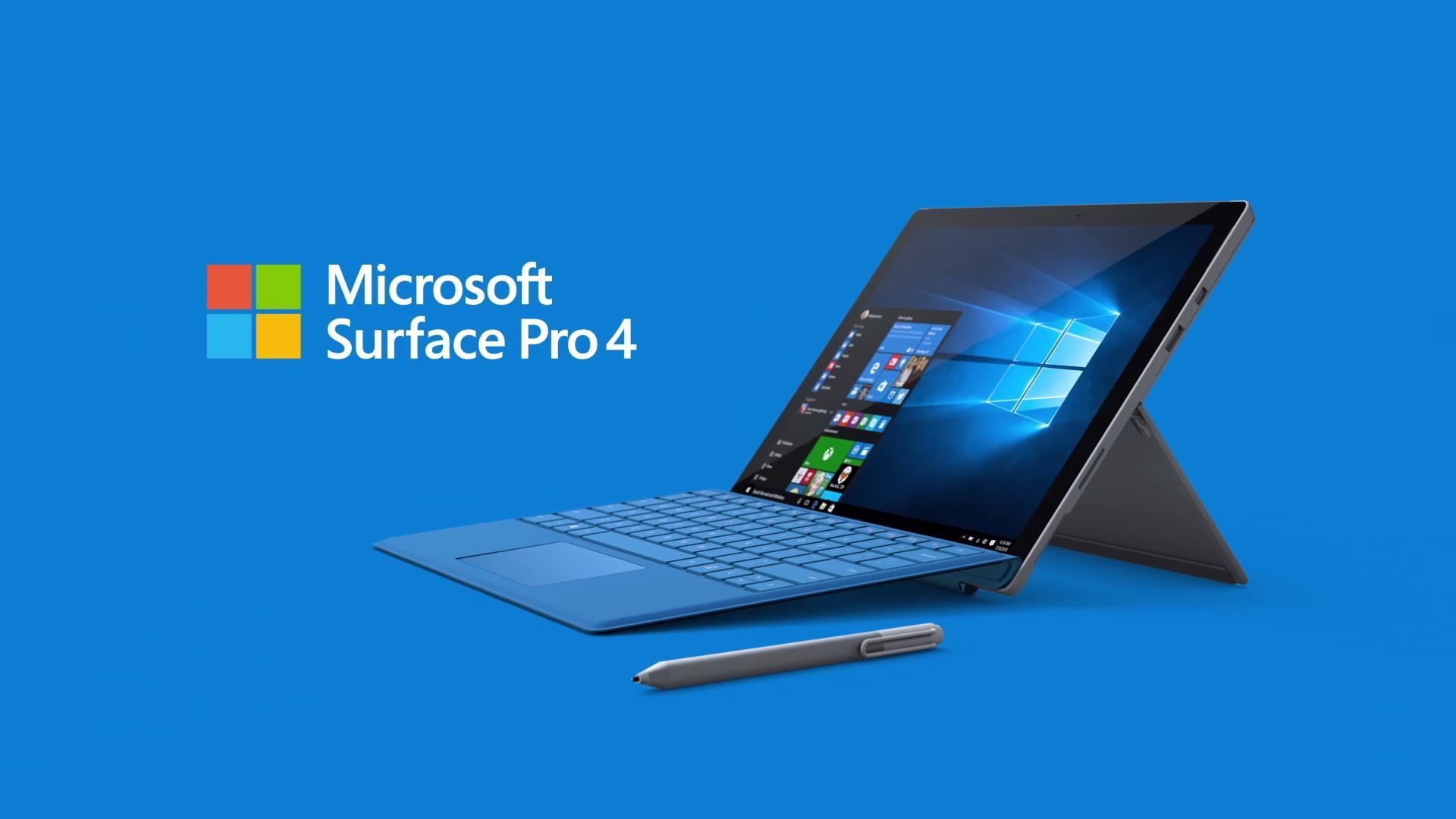 Máy tính bảng Microsoft Surface Pro 4 - i7 / 16GB / 512GB