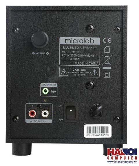 Loa MICROLAB M105 - 2.1