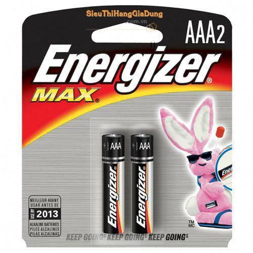 Pin Energizer Max  AAA E92 BP2