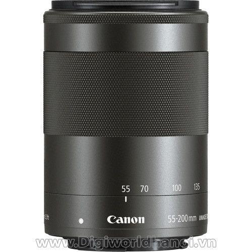 Canon EF-M 55-200mm f/4.5-6.3 IS STM Lens (Black) - for EOS M3, M5,M6, M10 - Lê Bảo Minh