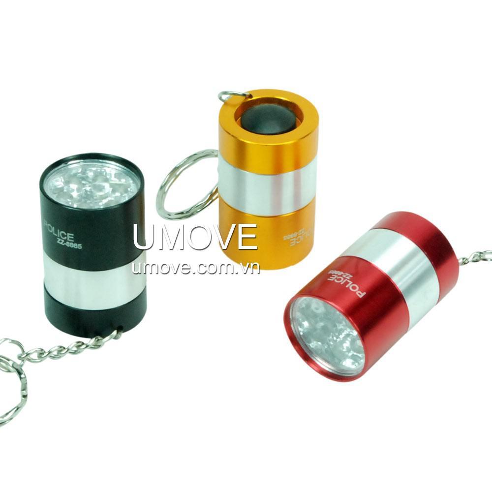 Đèn Pin 6 Led Police ZZ 8865