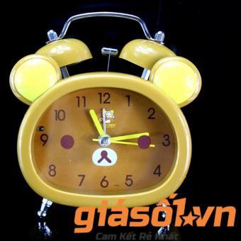 Đồng hồ báo thức để bàn cho bé 17051 (Nâu)