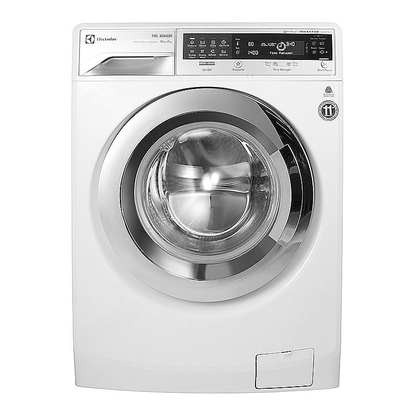 Máy giặt 10kg kết hợp sấy 7kg Electrolux EWW14012