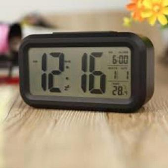 Đồng hồ báo thức đèn LED nền cảm biến đa chức năng