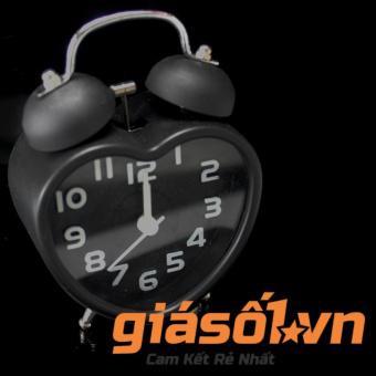 Đồng hồ báo thức để bàn 2867 ( Đen )