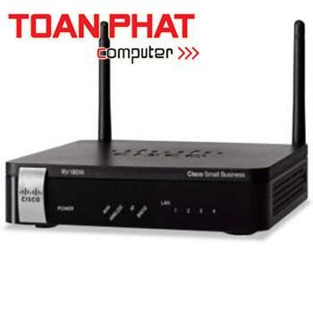 Wireless-N Multifunction VPN Router Cisco RV180W