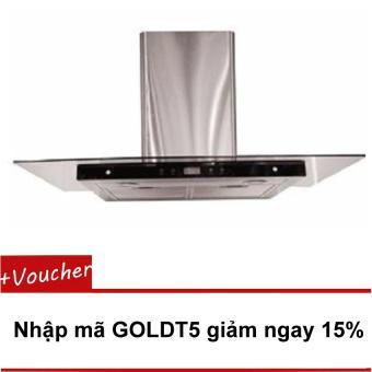 Máy hút mùi Goldsun GS-190T (Kính thẳng - Màn LED - cảm ứng)