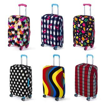 26-28inch Elastic Luggage Travel Bag Suitcase Cover Dust-proof Protector Cases - intl