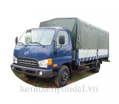 Xe tải Hyundai HD700 Đồng Vàng lựa chọn hàng đầu