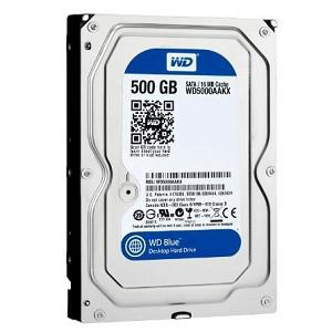 Ổ Cứng HDD WD Blue™ 500G/16MB/7200rpm/3.5 - WD5000AZLX