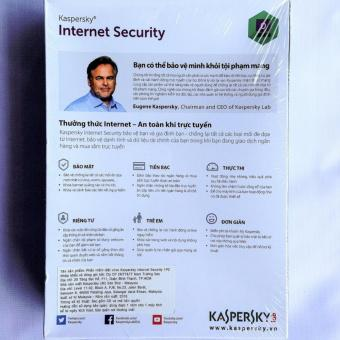 Phần mềm diệt virus Kaspersky Internet Security