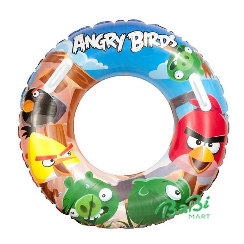 Phao bơi Angrybird Bestway 96103