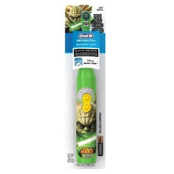 Bàn chải đánh răng dùng pin trẻ em Oral-B Pro-Health Disney Star Wars Battery Toothbrush (Đỏ)