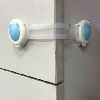 Combo 4 đai khóa tủ lạnh, ngăn kéo an toàn cho bé