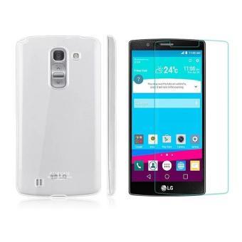 Bộ 1 Ốp lưng trong suốt LG G3 Imak và kính cường lực LG G3 Proglass-Hàng nhập khẩu