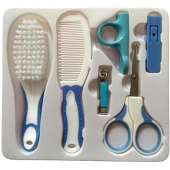 Bộ dụng cụ chăm sóc móng tay cho bé Baby Care Kit (Xanh)