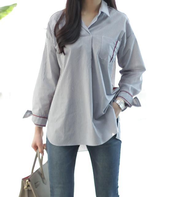 Áo sơ mi nữ Hàn Quốc BL26158