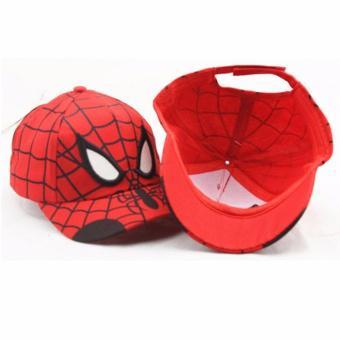 Mũ lưỡi trai hình siêu nhân người nhện Spider man cho bé