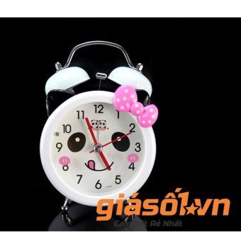 Đồng hồ báo thức để bàn cho bé 17064 (Nơ hồng)