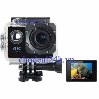 Camera hành động Waterproof ACTION CAMERA WIFI MultiPurpose 4K ULTRA HD (Đen)