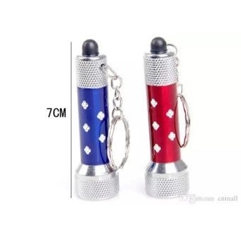 Đèn Pin Móc Khóa 7 LED Siêu Sáng Tùy Màu
