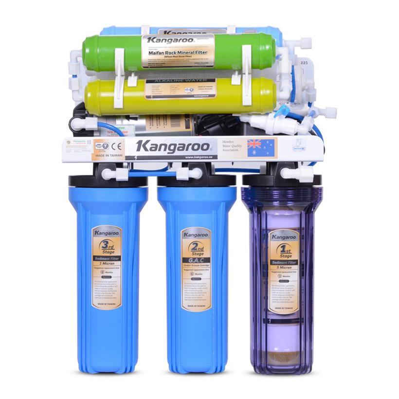Máy lọc nước Kangaroo KG108 (Xanh)