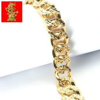 Lắc tay nam nữ mạ vàng cao cấp
