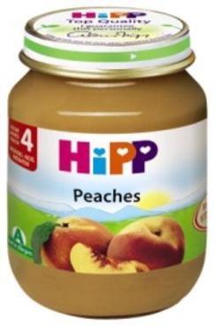 Dinh dưỡng đóng lọ đào tây Hipp 125g