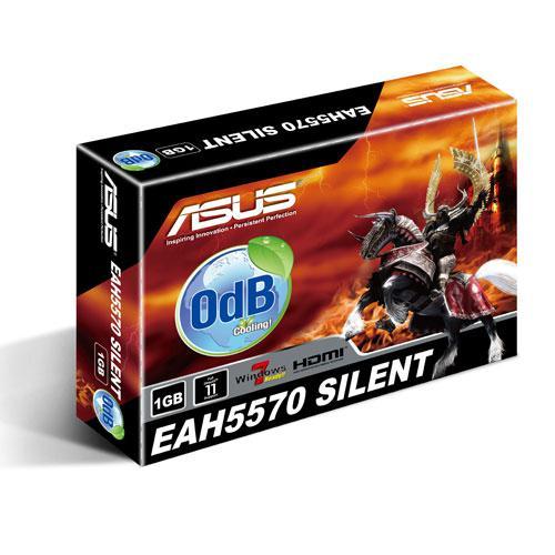 Card màn hình ASUS 1GB DDR2 5570 (EAH5570 SILENT/DI/1GD2)