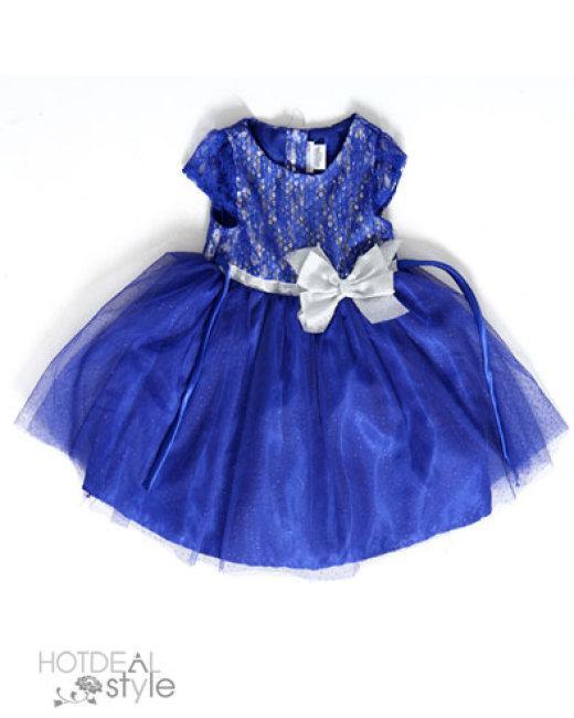 Đầm Kim Sa Cho Bé Size 4