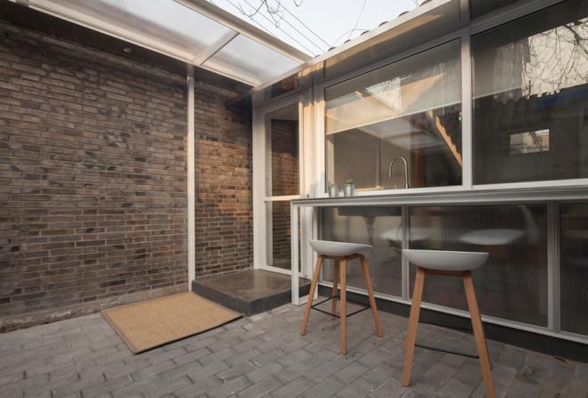 Nhà 32 m2 vẫn rộng rãi của gia đình trẻ