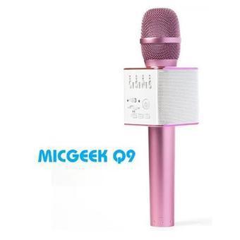 Micro hát Karaoke Q9 kèm loa Bluetooth - Hàng nhập khẩu