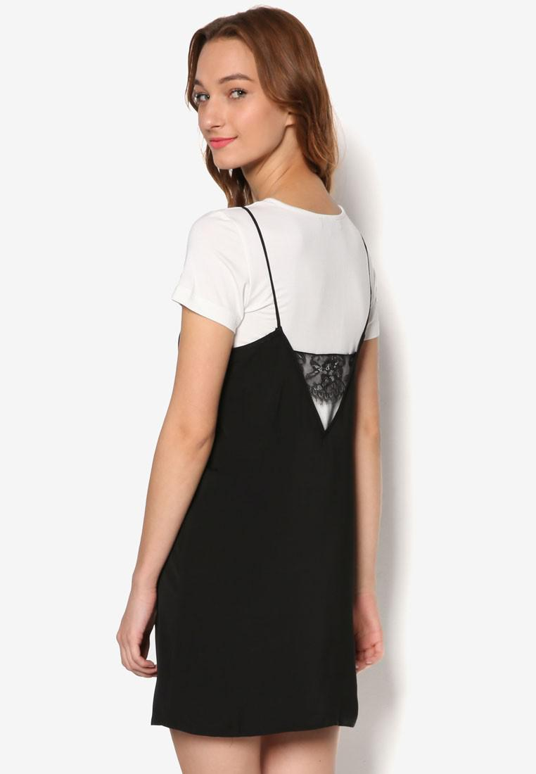 Đầm Hai Dây Omania