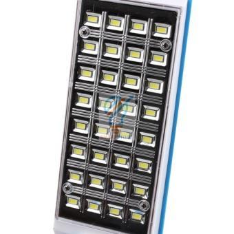 Đèn bàn sạc điện LED gấp gọn Kamisafe-6653C (Xanh)