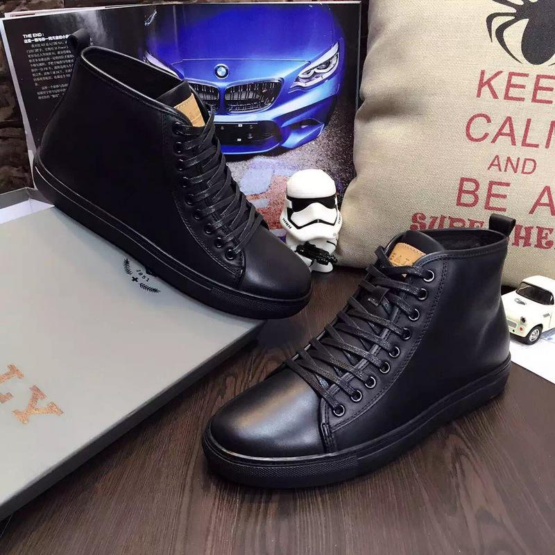 giày nam cao cổ bally 0056