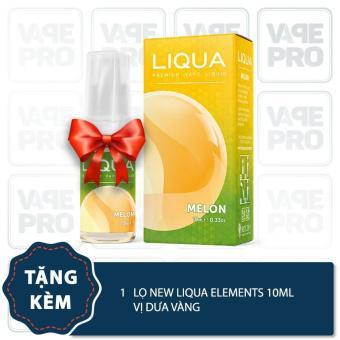 Buồng đốt Augvape Merlin RDTA (Rose gold) tặng 1 lọ tinh dầu New Liqua 10ml vị Thuốc lá nhẹ