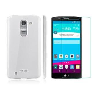 Bộ 1 Ốp lưng trong suốt LG G4 Imak và kính cường lực LG G4 Proglass-Hàng nhập khẩu