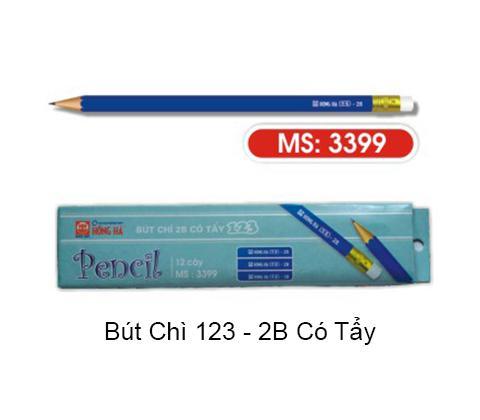 Bút chì HH 123-2B có tẩy