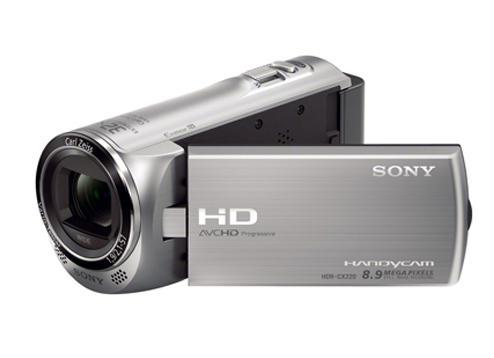 Máy quay Sony HDR-CX220E 8.9MP (bạc)