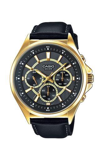 Đồng hồ nam dây da Casio MTP-E303GL-1AVDF